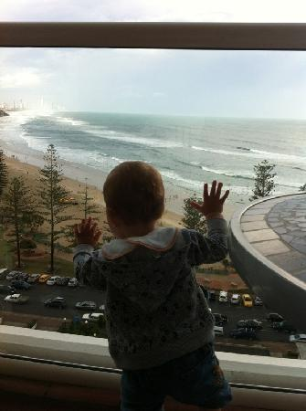 Burleigh Heads, Australia: View from the balcony