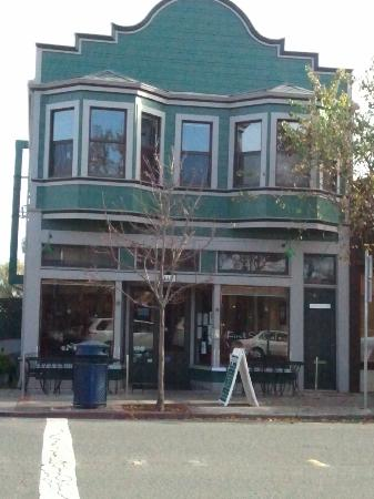 At First Street Cafe Benicia