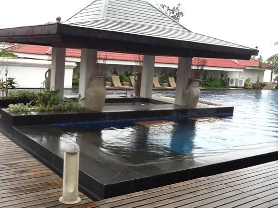 Cagayan Holiday and Leisure Resort: the resort's infinity pool