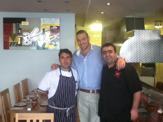 Tyson fury picture of anatolia turkish restaurant for Anatolia turkish cuisine