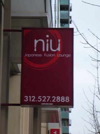 "Niu Japanese Fusion Lounge : ""Rock N Roll"" Roll"