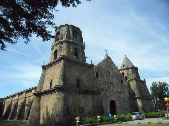 Miagao, Filipinas: grand view of the fortress church