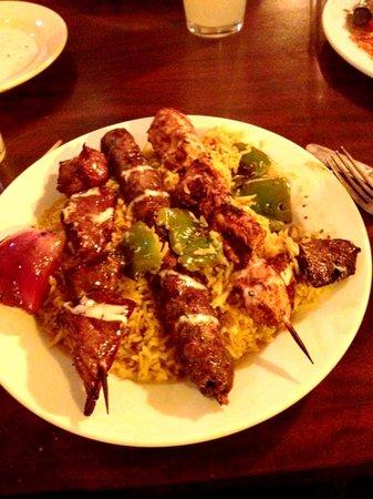 Mediterraneo Grill: Mixed grill kabobs