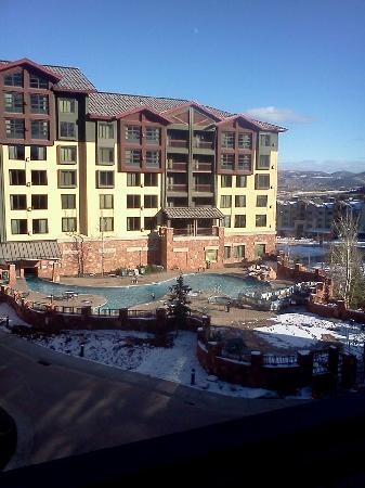 Canyons Grand Summit Hotel: View from our balcony