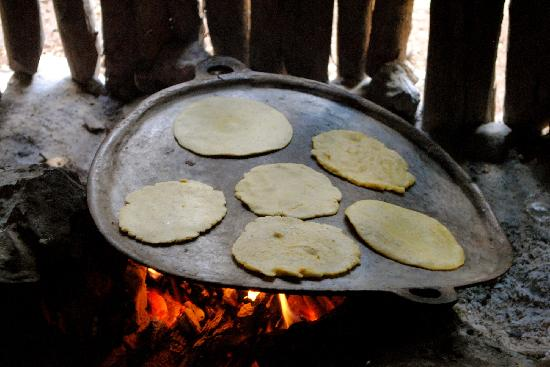 MexiGo Tours: corn tortillas almost ready to eat!, delicious