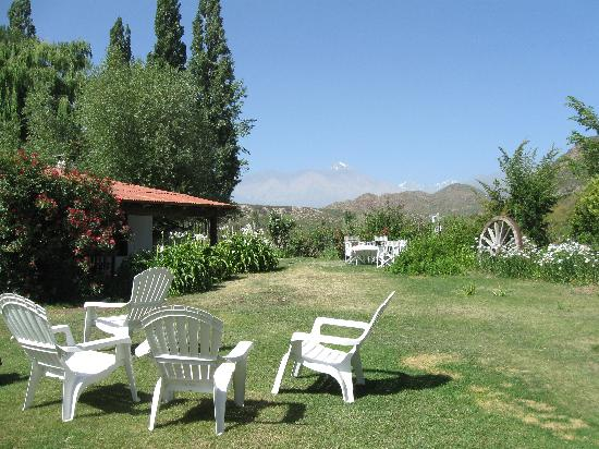 Estancia El Puesto : from the front yard -- doesn't do it justice. The view is splendid!
