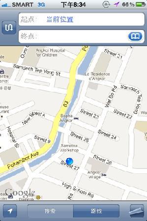 Haus Bremen: map