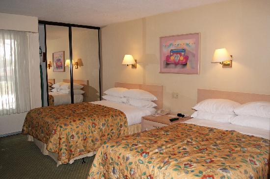 Howard Johnson Anaheim Hotel and Water Playground: The room