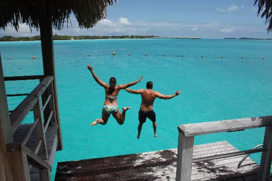 The St. Regis Bora Bora Resort: yeah you have to bring a tripod for this shot