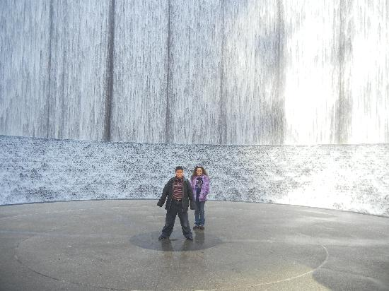 Water Wall: My kids enjoyed it so much..