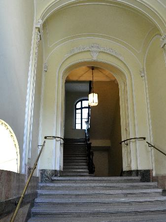 Hotel Pension Museum: The entrance