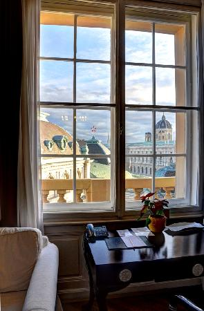 Hotel Pension Museum: The view