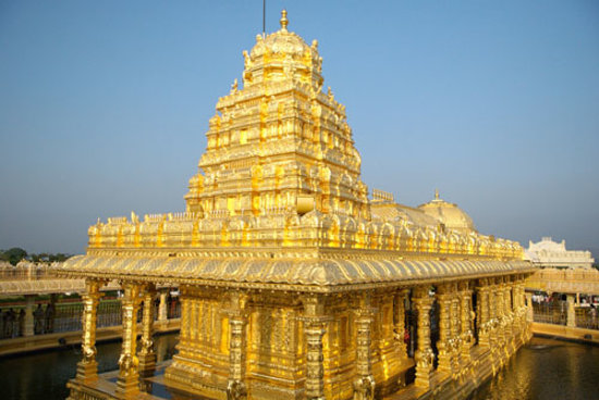 sripuram golden temple gold