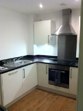 BridgeStreet at Liverpool ONE: kitchen