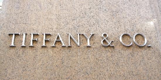 Tiffany & Co. : all'entrata