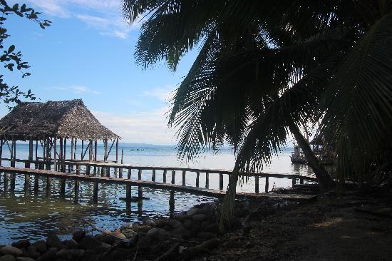 Buccaneer Resort: Typisch uitzicht