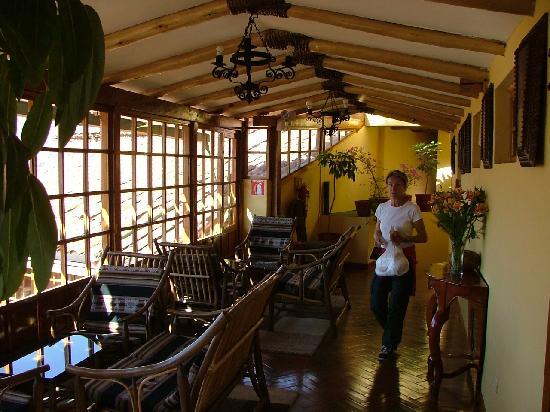 Amaru Colonial: véranda