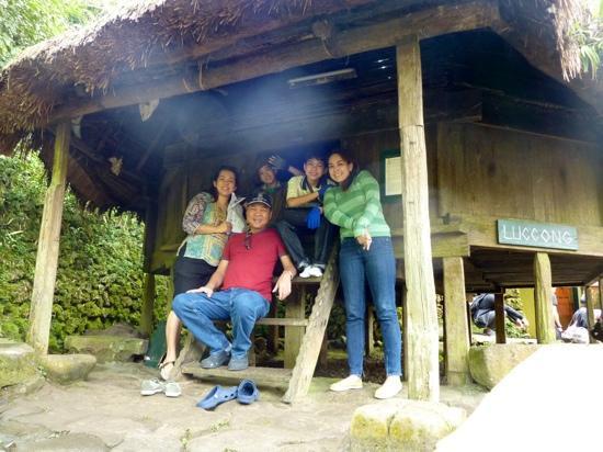 Tam-Awan Village: This house is an upperclas Kalinga Hut circa 1923 from Luccong, Butbut, Kalinga.