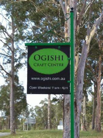 Ogishi Craft Centre: Front Sign