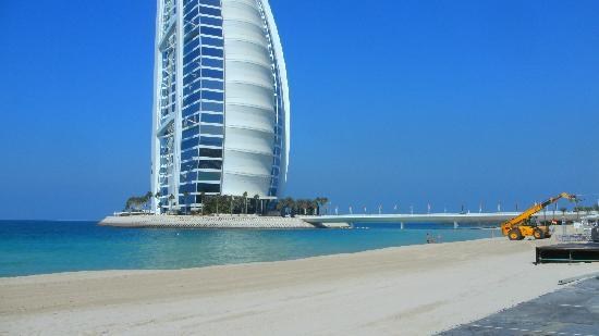 دار المصيف في مدينة الجميرا: Strand mit Blick aufs Burj al Arab