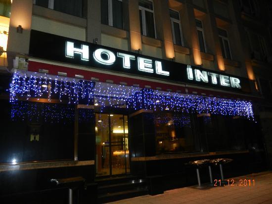 Hotel Inter Istanbul: vue de l'entrée de l'hotel