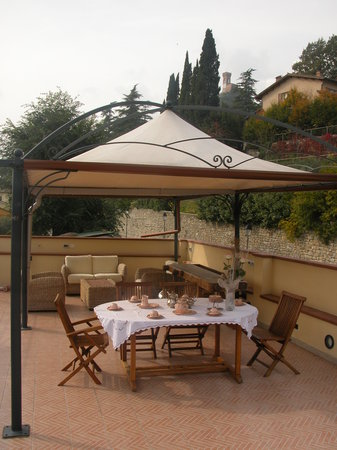 Bed & Wine: TERRAZZA PANORAMICA
