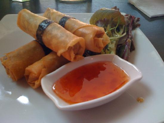 The Rice Den : Spring rolls