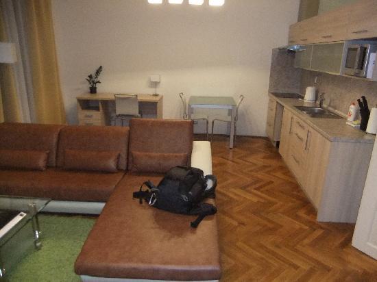 Residence U Cerne Veze: living room