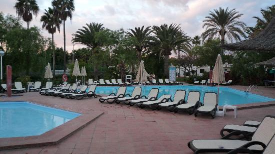 Canary Garden Club: Poolbereich
