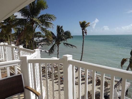 Southernmost Beach Resort: our balcony view
