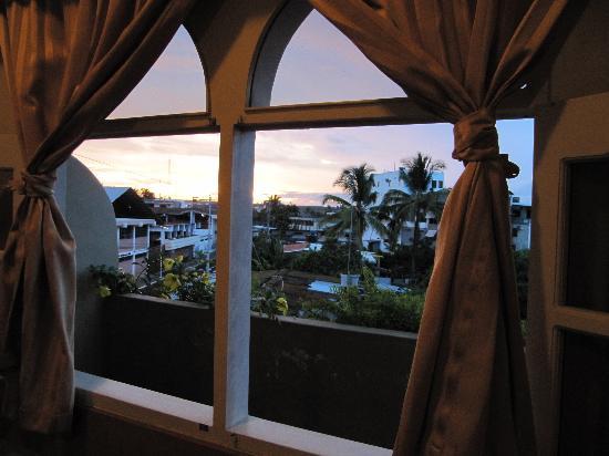 Hotel Crossman: Vista desde el balcon