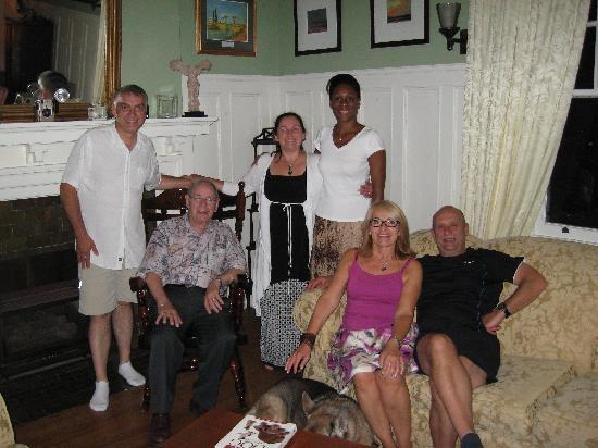 Springbank House: Nous avec Andrea, Stefan prenait la photo
