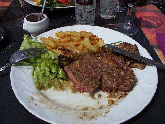 Café d'Hautvillers : Entrecote steak