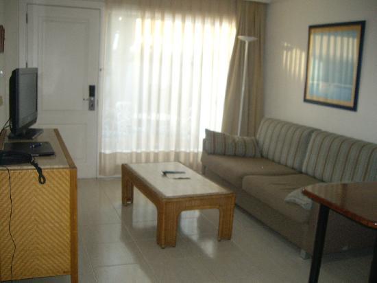 Apartamentos Fariones: Lounge area