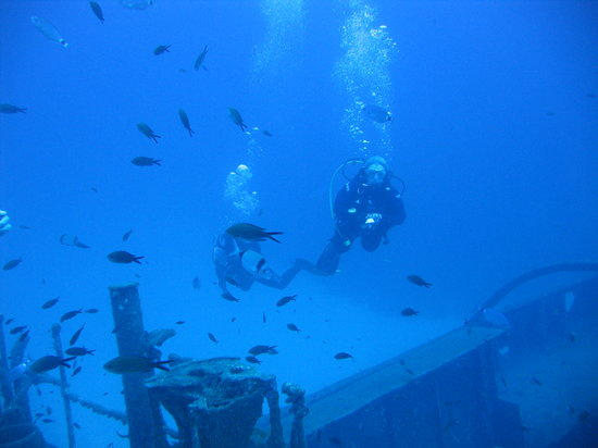St. Paul's Bay, Malta: Diving the 'Rozi' with Maltaqua