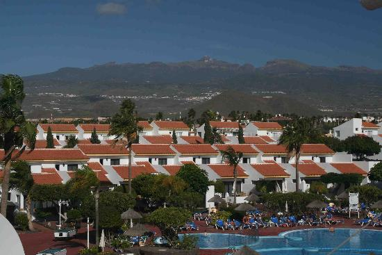 Select Sunningdale: Impressive view of Mt Teide from the back of the apartment