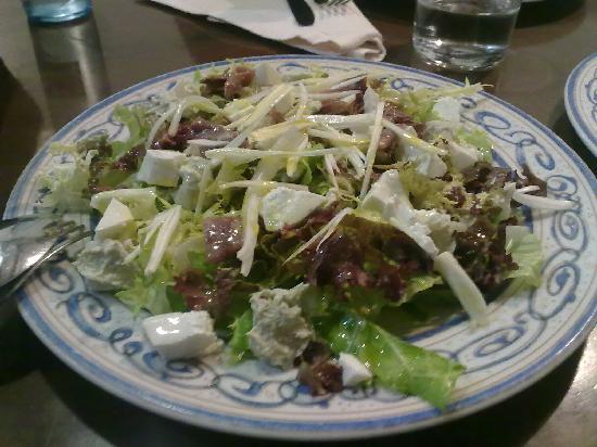 Restaurante Xixilu: Ensalada de quesos