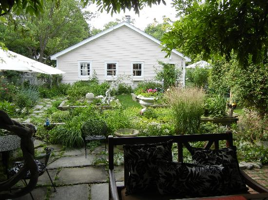 The Guesthouse: The beautiful back garden
