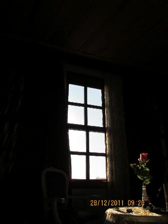 Esans Hotel: rose and the window