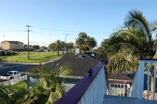 Pelican Cove Inn: from the rooftop
