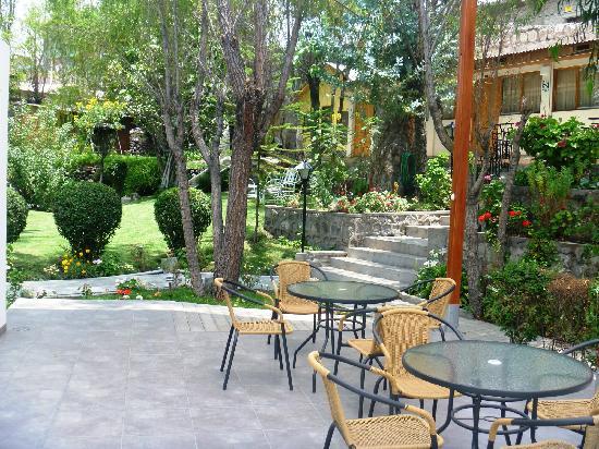 Queen's Villa Hotel Boutique : Jardin del Hotel