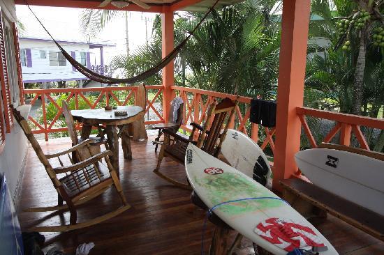 Hermosa Bungalows: Porch #7