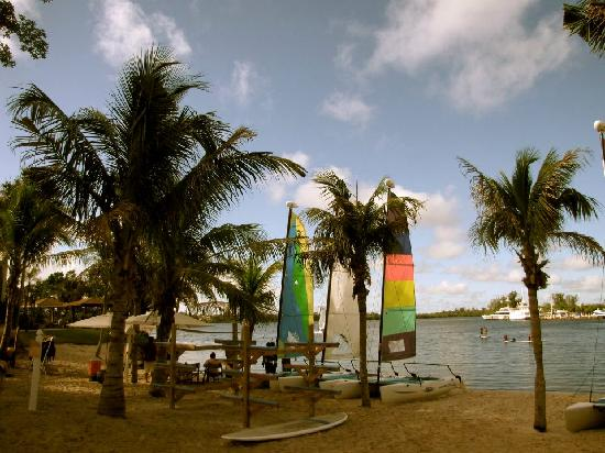 Club Med Sandpiper Bay: Beach on the river