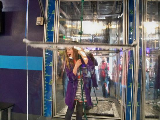 Children's Museum of Denver: Encase yourself in a bubble
