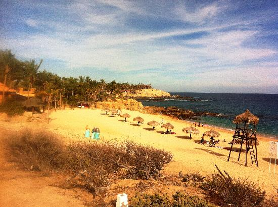 Chileno Beach : The beach
