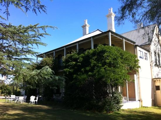 Carriages Boutique Hotel & Vineyard: the main building