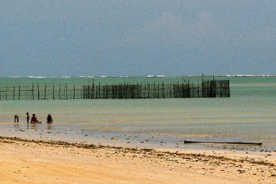 Antunes Beach : A fish trap called a Corral