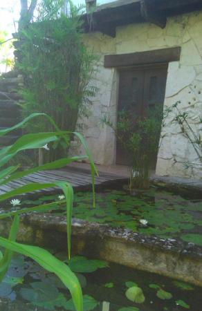 Hechizo: Front entrance...lotus pond