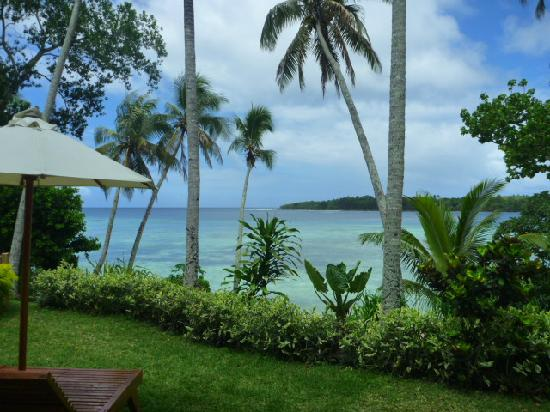 Pandanus Bay Waterfront Apartments: View from our apartment.