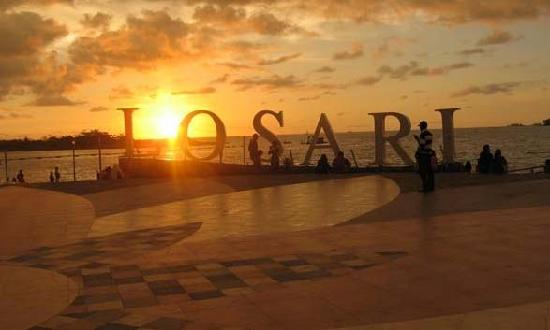 Losari Beach: SUNSET LOSARI